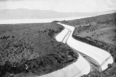 LA Aqueduct from Owens Valley