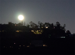 Franklin Canyon Moon Rise